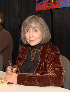 Anne Rice, my favourite author... Amazing woman :3
