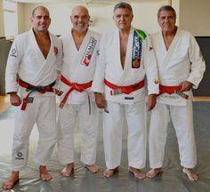 Do not even try to start a fight with these 4.Sylvio Behring, Flavio Behring, Joao Alberto Barreto, Alvaro Barreto.