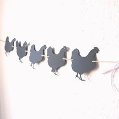 Hen bunting hen party decorations black hen bunting banner garland reserved area banner room decoration