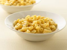 """Healthified Macaroni and Cheese ~ 59% less fat • 54% less sat fat • 24% fewer calories than the original recipe. Make it """"my mac and cheese"""" with simple changes."""