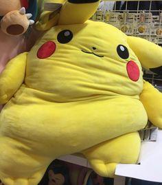 Ash needs to put Pikachu on a diet! Pikachu Memes, Pikachu Pikachu, Pokemon Go, Guacamole, Best Memes, Funny Memes, Cute Plush, Cute Anime Pics, Know Your Meme