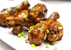 Lining up a list of game day appetizers for your Super Bowl Sunday should be easy. Here are 10 game day appetizers you should make for your next party. Wing Recipes, Meat Recipes, Cooker Recipes, Chicken Recipes, Appetizer Recipes, Sriracha Wings, Ginger Pork, Ginger Sauce, Crispy Baked Chicken Wings