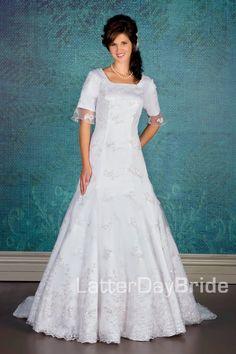 Modest Wedding Dresses : Bainbridge
