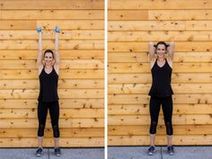 Sculpted Barre Arm Workout - Tricep Dips
