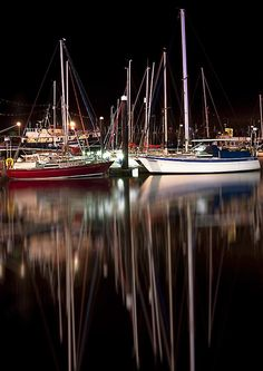 I love the quiet of the marina after a great day sailing. Yacht Boat, Pontoon Boat, Sailing Yachts, Boating Holidays, Love Boat, Pt Boat, Honfleur, Le Havre, Sail Away