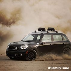 What's the most exciting family time you've had? The MINI Countryman, with ALL4 all-wheel drive and seating for 5. #MINI #Countryman #Motoring #Family #Roadtrip #Adventure