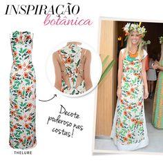 Compre moda com conteúdo, www.oqvestir.com.br #Fashion #Thelure #Print #Pretty #Summer #Dress #LaláRudge