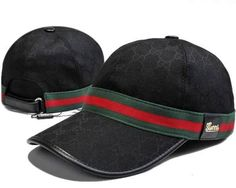 Gucci GG Canvas Baseball Cap with Web