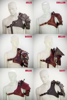 Dun care that it's for males. hell yeah i love it Steampunk Cosplay, Steampunk Armor, Larp Armor, Barbarian Armor, Barbarian Costume, Viking Cosplay, Viking Armor, Viking Metal, Viking Costume