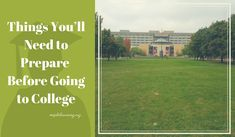 Going to college can be a great time for everyone. It is the time when people are setting themselves up for success in the corporate world where they'll finally get started on living life as independ
