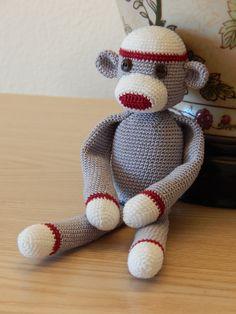 Sock Monkey by Dawn Holbrook