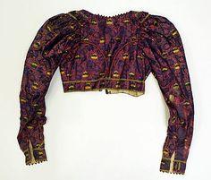 Costume Institute at Metropolitan Museum of Art, Item C.I.59.3.1 ; late 18tth century, german, silk.metal