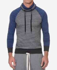 2(x)ist Men's Colorblocked Cotton Base-Layer Hoodie
