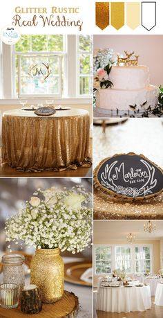 A Glitter filled Gorgeous Vintage Rustic Wedding by Fowler Studios at Womans Club of Portsmouth, Portsmouth, Virginia