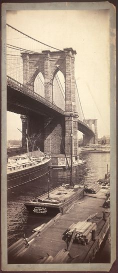 c1896.Title: [Brooklyn Bridge] Related Names:     Geo. P. Hall & Son , copyright claimant Date Created/Published: