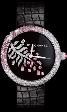 CHANEL – Watch Lesage Limited and Numbered Editions 18 Pieces - Diamond Jewelry Cool Watches For Women, Trendy Watches, Elegant Watches, Beautiful Watches, Ladies Watches, Chanel Jewelry, Fashion Jewelry, Chanel Watch, Lesage