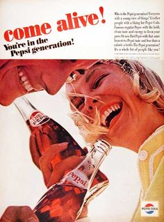 Vintage Pepsi ad. Lots of others on the permalink.