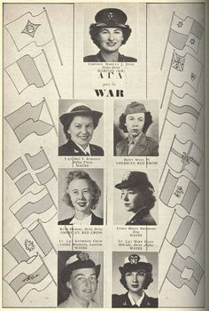 Alpha Gams at War WWII