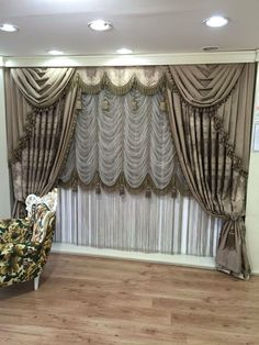 How To Make Curtains, Drapes Curtains, Valances, Drapery, Curtain Styles, Curtain Designs, Curtain Patterns, Medieval Home Decor, Victorian Decor