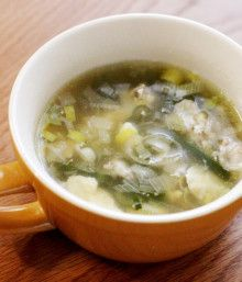 【クックパッド話題入り】風邪の時に飲みたい♪葱生姜スープ | ワンランク上の簡単うちごはん