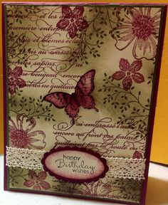 Floral collage, inspired by a leadership swap.  En Francais, Flower Shop, Thoughts and Prayers, Petite Pairs, Papillon Potpourri