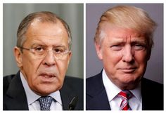 #world #news  Trump, in tweets, defends his sharing of information with Russians