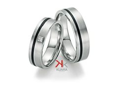 Palladium Available also in and grey Rings For Her, Couple Rings, White Gold, Wedding Rings, Engagement Rings, Jewelry, Bands, Romance, Fiber