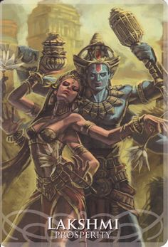 Lakshmiin Goddesses&Sirens by Stacey Demarco&Jimmy Manton