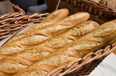 gluten-free, vegan french baguette