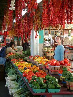 Les fruits et légumrd au marché Jean Talon, un vrai régal...