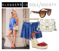 """Bloggers in Sole Society: Sophie Elkus of Angel Food Style"" by solesociety ❤ liked on Polyvore featuring moda e Sole Society"
