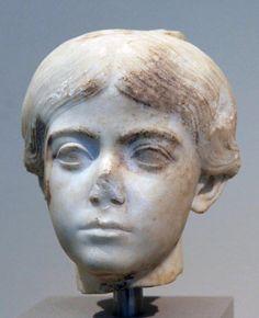 (c. 13 BCE - 5 CE) Roman Portrait of a Girl