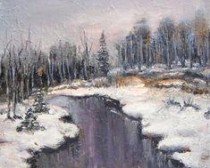 ზეთი, მუყაო  (47/32) Oil Painting For Sale, Artist Painting, Paintings For Sale, Oil Paintings, Online Art Gallery, Mountains, Winter, Travel, Outdoor
