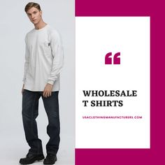 When it comes to trendy pieces of t-shirts there is no beating to USA Clothing Manufacturers. Place your bulk order for menswear to the support team at amazing wholesale rates. Wholesale Blank T Shirts, Wholesale Blanks, Bulk Order, Cool T Shirts, Menswear, Usa, Amazing, Clothing, Outfits