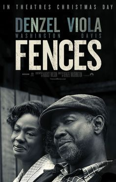 Denzel Washington directs and stars in the upcoming Fences movie, based on the acclaimed by August Wilson. Catch the adaptation in theaters December 25.
