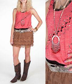 """""""Tiers In Heaven"""" #buckle #fashion  www.buckle.com"""