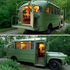 Bus Life, Camper Life, Camper Van, Campers, Motorhome Vintage, Hippie Mode, Kombi Trailer, Combi Wv, Bus House