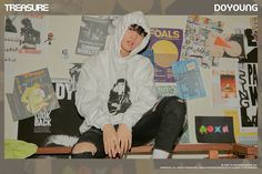 edit by divaa Yg Entertainment, Lirik Lagu Treasure, The Roling Stones, Debut Photoshoot, Hyun Suk, Fandom, Nct Doyoung, Chapter One, New Start