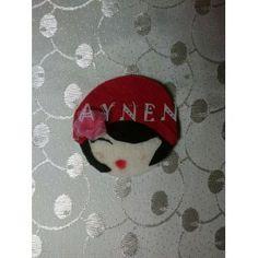 Bebek Şekeri Magnet Keçe Şapkalı Kız 20 https://www.facebook.com/aynentasarim