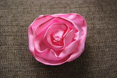 How to Make Ribbon Roses | Craft Test Dummies