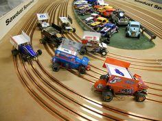 Slot Car Track Layouts Jd Model Raceway Worlds Largest Track