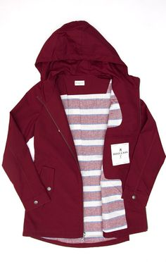 Warbler Burgundy from bridge and burn. I want this jacket. In any color.