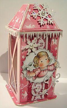 tutorial; latern gift box