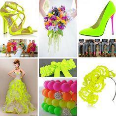 Un must di questa estate 2016 sono sicuramente i colori fluorescenti. Oggi vi proponiamo un tema matrimonio davvero speciale: il neon wedding theme!