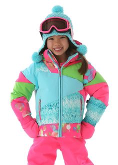 Spyder Bitsy Glam Jacket Girls Ski Jacket cfac10c1d