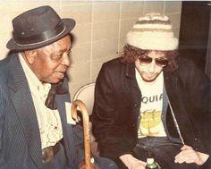 Bob Dylan and Big Joe Williams