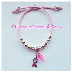 Pulsera Súmate al Rosa. Precio 3€, de los que se donan a la AECC 1,5€ Gastos de envío 1€ (correo ordinario) #sumatealrosa #contraelcancer #luchacontraelcancer #cancerdemama Por un mundo libre de cáncer de mama