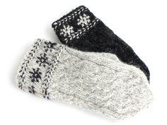 【楽天市場】リトアニア製 大人用 手編みミトンケーブル編み《パールグレー》:タイニーピクシス 楽天市場店