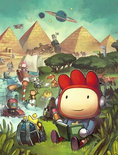 Puzzles, wordplay and imagination - but does Scribblenauts Unlimited (WiiU) live up to the hype?