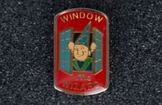 Mcdonald's Window Wizard Vintage Enamel Tack Pin by MichaelPMoriarty on Etsy